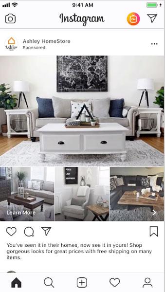 Instagram コレクション広告