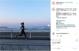 adidas Tokyo(@adidastokyo)公式Instagramより