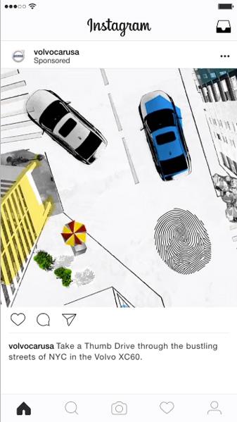 ボルボ: Instagram広告の成功事例