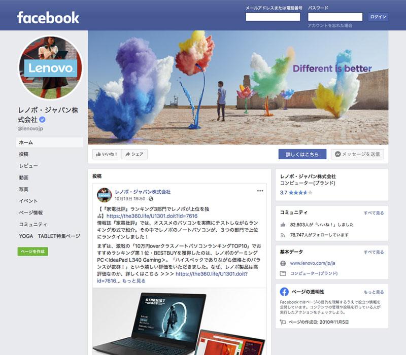 Facebook企業アカウントでの広告運用活用事例 1